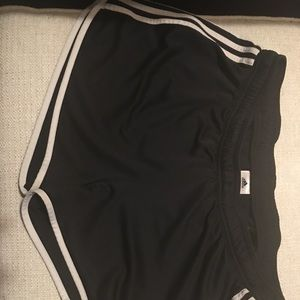 Black Adidas workout shorts. XL